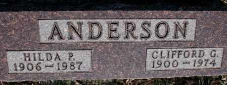 ANDERSON, HILDA P. - Burt County, Nebraska | HILDA P. ANDERSON - Nebraska Gravestone Photos