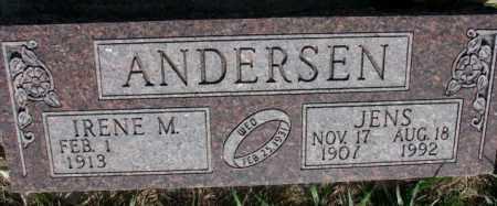 ANDERSON, JENS - Burt County, Nebraska | JENS ANDERSON - Nebraska Gravestone Photos