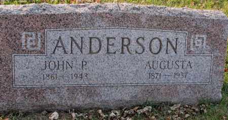 ANDERSON, JOHN P. - Burt County, Nebraska   JOHN P. ANDERSON - Nebraska Gravestone Photos