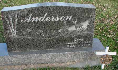 ANDERSON, JERRY - Burt County, Nebraska | JERRY ANDERSON - Nebraska Gravestone Photos