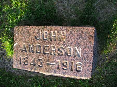 ANDERSON, JOHN - Burt County, Nebraska | JOHN ANDERSON - Nebraska Gravestone Photos