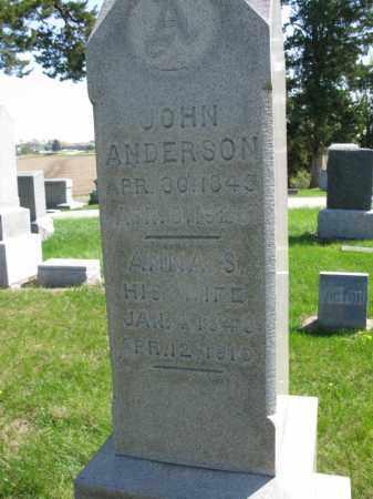 ANDERSON, ANNA S. - Burt County, Nebraska | ANNA S. ANDERSON - Nebraska Gravestone Photos