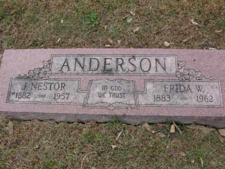 ANDERSON, J. NESTOR - Burt County, Nebraska | J. NESTOR ANDERSON - Nebraska Gravestone Photos