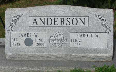 ANDERSON, CAROLE A. - Burt County, Nebraska | CAROLE A. ANDERSON - Nebraska Gravestone Photos