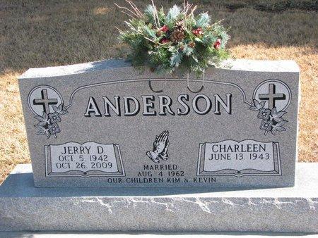 ANDERSON, JERRY D. - Burt County, Nebraska | JERRY D. ANDERSON - Nebraska Gravestone Photos