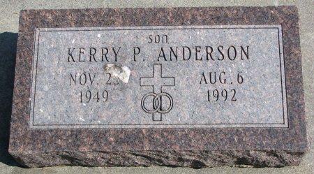 ANDERSON, KERRY P. - Burt County, Nebraska | KERRY P. ANDERSON - Nebraska Gravestone Photos