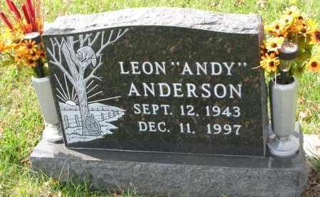 "ANDERSON, LEON ""ANDY"" - Burt County, Nebraska | LEON ""ANDY"" ANDERSON - Nebraska Gravestone Photos"