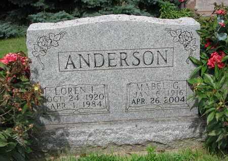 ANDERSON, LOREN I. - Burt County, Nebraska | LOREN I. ANDERSON - Nebraska Gravestone Photos