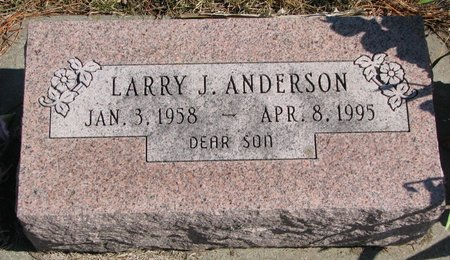 ANDERSON, LARRY J. - Burt County, Nebraska | LARRY J. ANDERSON - Nebraska Gravestone Photos