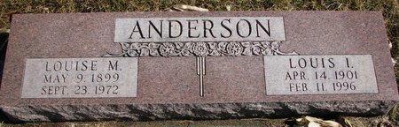 ANDERSON, LOUIS I. - Burt County, Nebraska | LOUIS I. ANDERSON - Nebraska Gravestone Photos
