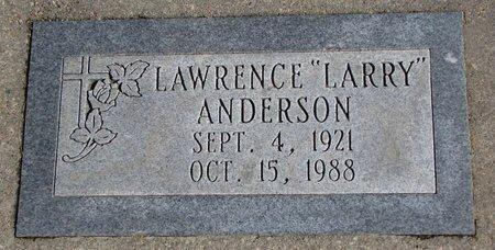"ANDERSON, LAWRENCE ""LARRY"" - Burt County, Nebraska | LAWRENCE ""LARRY"" ANDERSON - Nebraska Gravestone Photos"