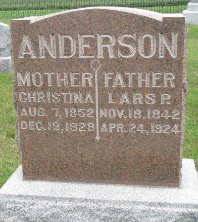 ANDERSON, LARS P. - Burt County, Nebraska   LARS P. ANDERSON - Nebraska Gravestone Photos