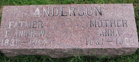 ANDERSON, L. ANDREW - Burt County, Nebraska | L. ANDREW ANDERSON - Nebraska Gravestone Photos