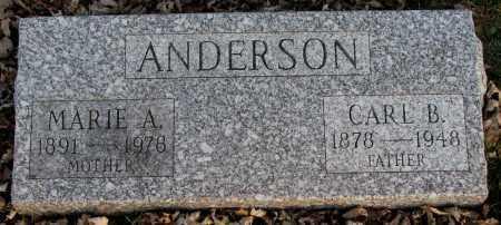 ANDERSON, MARIE A. - Burt County, Nebraska | MARIE A. ANDERSON - Nebraska Gravestone Photos