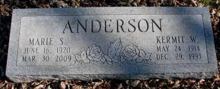 ANDERSON, KERMIT W. - Burt County, Nebraska | KERMIT W. ANDERSON - Nebraska Gravestone Photos
