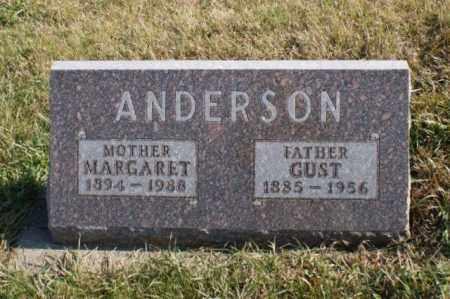 ANDERSON, MARGARET - Burt County, Nebraska | MARGARET ANDERSON - Nebraska Gravestone Photos