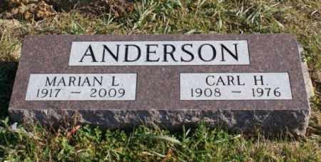 ANDERSON, MARIAN L. - Burt County, Nebraska   MARIAN L. ANDERSON - Nebraska Gravestone Photos