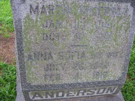 ANDERSON, ANNA SOPHIA - Burt County, Nebraska | ANNA SOPHIA ANDERSON - Nebraska Gravestone Photos