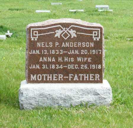 ANDERSON, ANNA H. - Burt County, Nebraska | ANNA H. ANDERSON - Nebraska Gravestone Photos