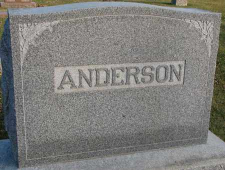 ANDERSON, PLOT - Burt County, Nebraska | PLOT ANDERSON - Nebraska Gravestone Photos