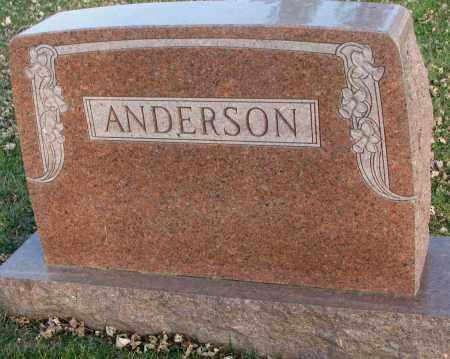 ANDERSON, PLOT - Burt County, Nebraska   PLOT ANDERSON - Nebraska Gravestone Photos