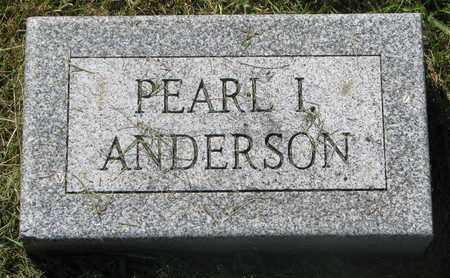 ANDERSON, PEARL I. (FOOTSTONE) - Burt County, Nebraska | PEARL I. (FOOTSTONE) ANDERSON - Nebraska Gravestone Photos