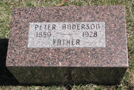 ANDERSON, PETER - Burt County, Nebraska | PETER ANDERSON - Nebraska Gravestone Photos