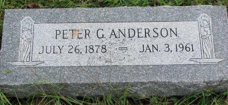 ANDERSON, PETER G. - Burt County, Nebraska | PETER G. ANDERSON - Nebraska Gravestone Photos
