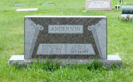 ANDERSON, LAURA D. - Burt County, Nebraska | LAURA D. ANDERSON - Nebraska Gravestone Photos
