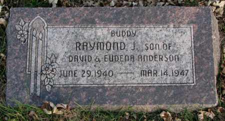 ANDERSON, RAYMOND J. - Burt County, Nebraska   RAYMOND J. ANDERSON - Nebraska Gravestone Photos
