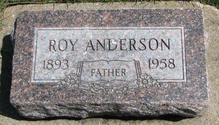 ANDERSON, ROY - Burt County, Nebraska | ROY ANDERSON - Nebraska Gravestone Photos