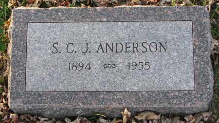 ANDERSON, S.C.J. - Burt County, Nebraska | S.C.J. ANDERSON - Nebraska Gravestone Photos