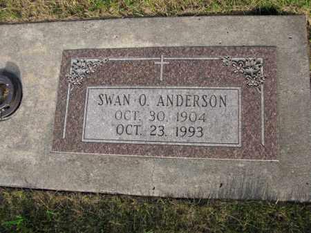 ANDERSON, SWAN O. - Burt County, Nebraska   SWAN O. ANDERSON - Nebraska Gravestone Photos