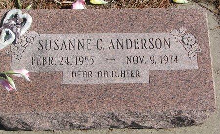 ANDERSON, SUSANNE C. - Burt County, Nebraska | SUSANNE C. ANDERSON - Nebraska Gravestone Photos