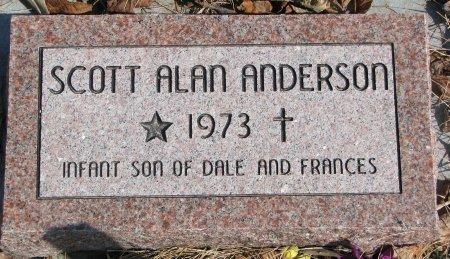ANDERSON, SCOTT ALAN - Burt County, Nebraska | SCOTT ALAN ANDERSON - Nebraska Gravestone Photos