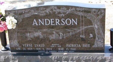 ANDERSON, VERNE EWALD - Burt County, Nebraska | VERNE EWALD ANDERSON - Nebraska Gravestone Photos