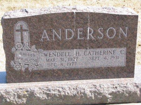 ANDERSON, CATHERINE C. - Burt County, Nebraska | CATHERINE C. ANDERSON - Nebraska Gravestone Photos