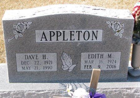 DAY APPLETON, EDITH MAE - Burt County, Nebraska   EDITH MAE DAY APPLETON - Nebraska Gravestone Photos