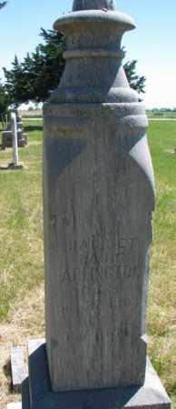 ARLINGTON, HARRIETT - Burt County, Nebraska | HARRIETT ARLINGTON - Nebraska Gravestone Photos