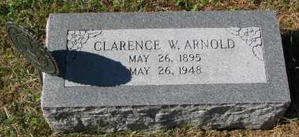 ARNOLD, CLARENCE W. - Burt County, Nebraska | CLARENCE W. ARNOLD - Nebraska Gravestone Photos