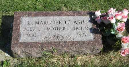 ASH, G. MARGUERITE - Burt County, Nebraska | G. MARGUERITE ASH - Nebraska Gravestone Photos
