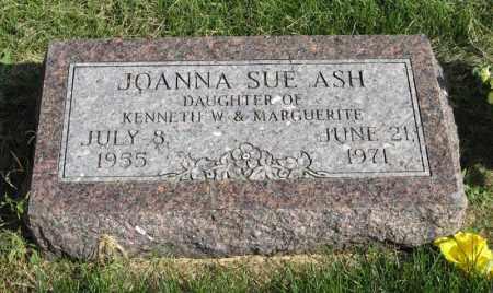 ASH, JOANNA SUE - Burt County, Nebraska | JOANNA SUE ASH - Nebraska Gravestone Photos