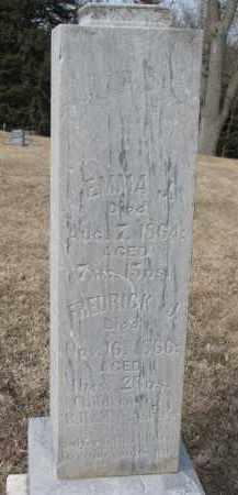ASHLEY, EMMA J. - Burt County, Nebraska | EMMA J. ASHLEY - Nebraska Gravestone Photos