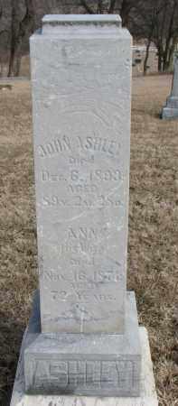 ASHLEY, ANN - Burt County, Nebraska | ANN ASHLEY - Nebraska Gravestone Photos
