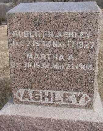 ASHLEY, MARTHA A. - Burt County, Nebraska | MARTHA A. ASHLEY - Nebraska Gravestone Photos