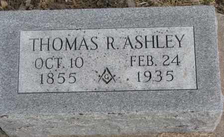 ASHLEY, THOMAS R. - Burt County, Nebraska   THOMAS R. ASHLEY - Nebraska Gravestone Photos