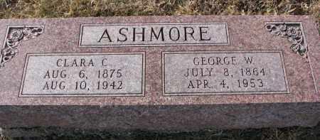 ASHMORE, CLARA C. - Burt County, Nebraska   CLARA C. ASHMORE - Nebraska Gravestone Photos