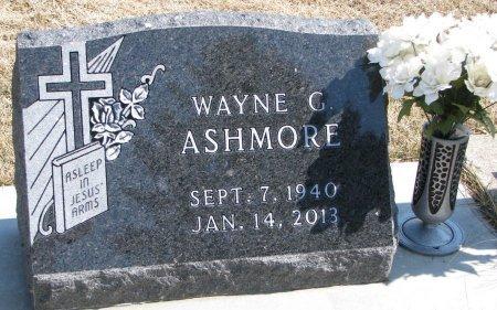 ASHMORE, WAYNE C. - Burt County, Nebraska   WAYNE C. ASHMORE - Nebraska Gravestone Photos