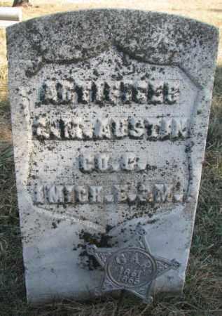 AUSTIN, GEORGE M. - Burt County, Nebraska   GEORGE M. AUSTIN - Nebraska Gravestone Photos