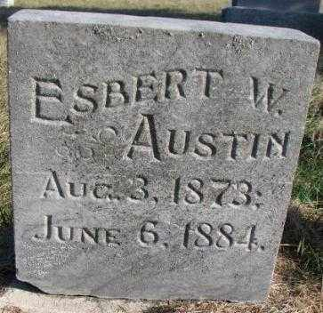 AUSTIN, ESBERT W. - Burt County, Nebraska | ESBERT W. AUSTIN - Nebraska Gravestone Photos